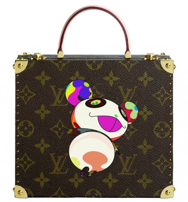 Louis Vuitton Takashi Murakami collaboration jewelry box.