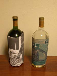 Wine bottle experiment, 2004
