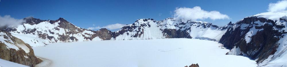 Katmai Caldera, Katmai NP, US - UAF Volcanology Field School 2016