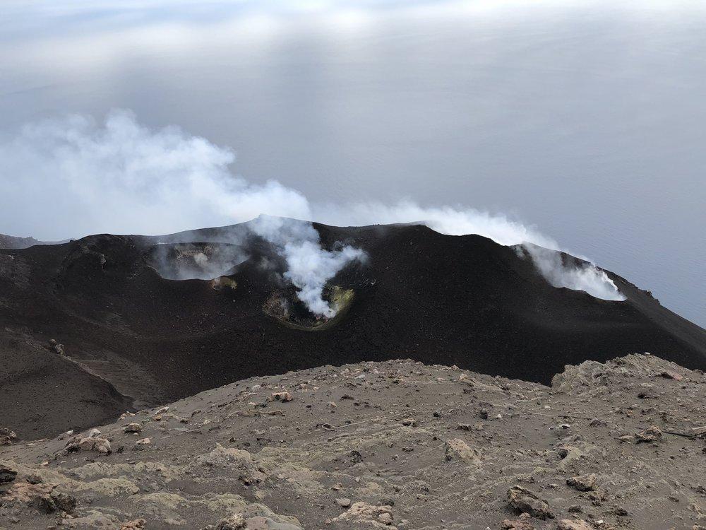 Stromboli Volcano, Italy, May 2018  Photo Credit: David Fee