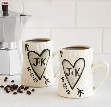 Faux Bois Personalized Mugs. Uncommon Goods 2013-present.  -