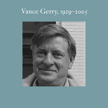 Vance Gerry, Pat's short-term business partner and longtime friend. Pat worshipped the talented Vance as he would an older brother. Their one-year partnership ended amicably and they continued to collaborate on many more projects.