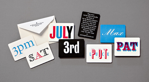 Wait, there's more! B-4th cards in playing card form.