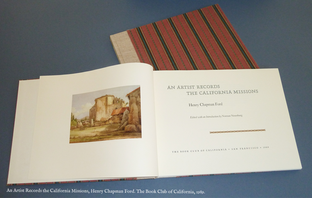 An Artist Records the California Missions