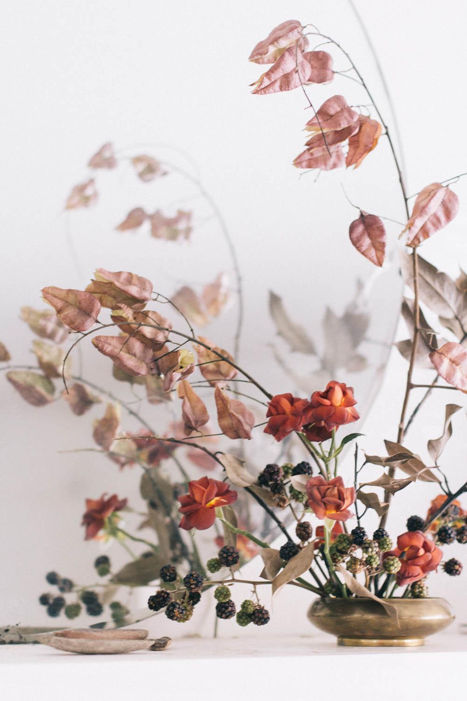 Bleedfoot Florals Rusty still life