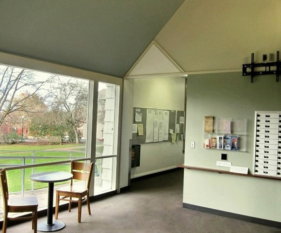 Beall Hall lounge, University of oregon