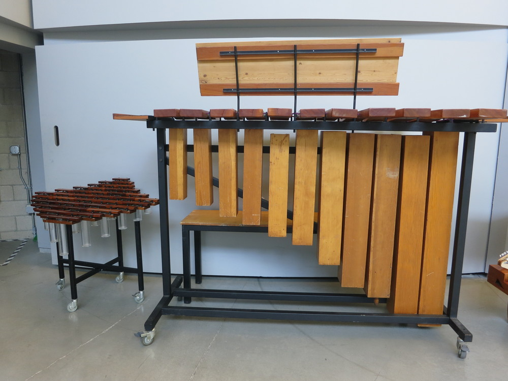 Diamond and Bass Marimbas