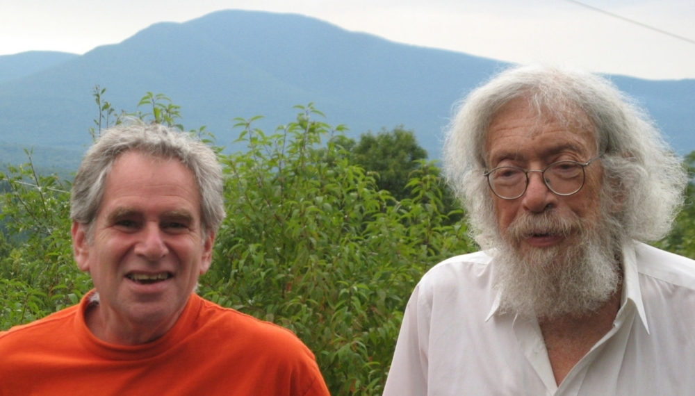 Edward Rosenfeld (Left) and Gerd Stern (Right)