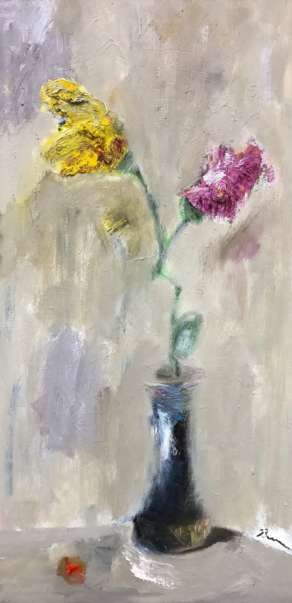 2 Flowers 1 Vase