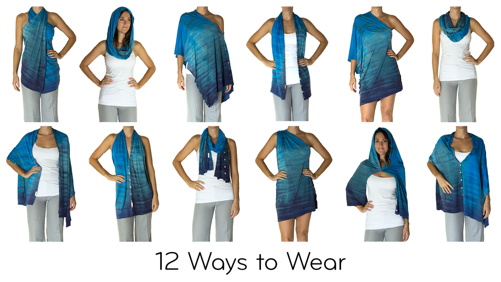 How to wear a journey shawl video tutorials the feel good daily by how to wear a journey shawl video tutorials ccuart Image collections