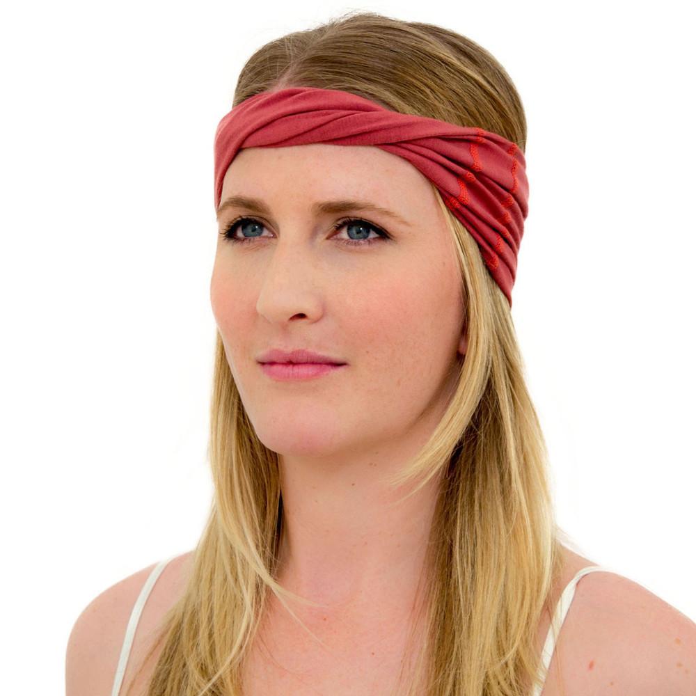 marsala head wrap for women