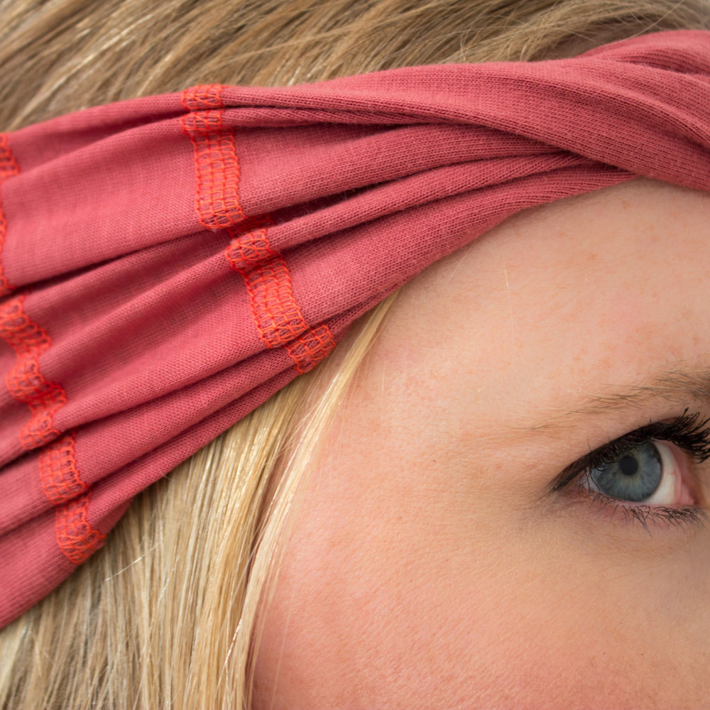 Marsala headband for women
