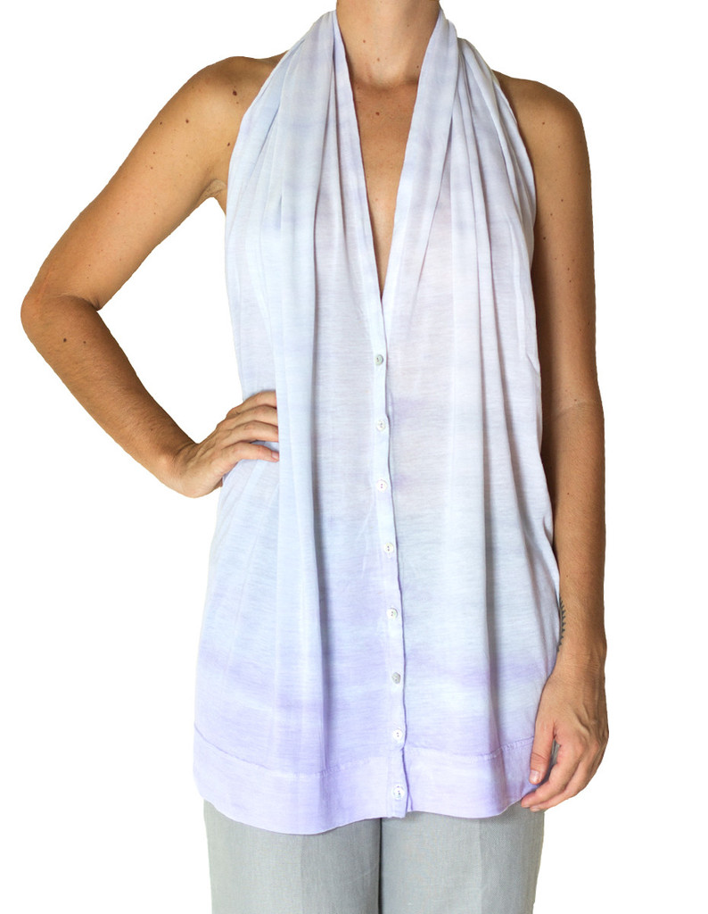 White multi-way scarf