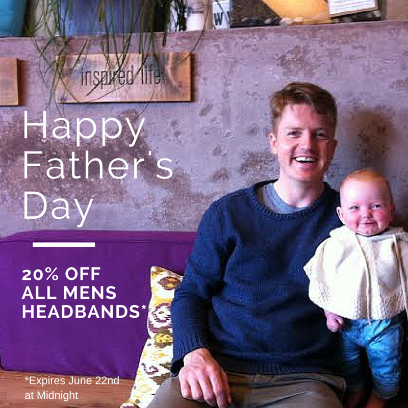 Fathers Day Headband Sale