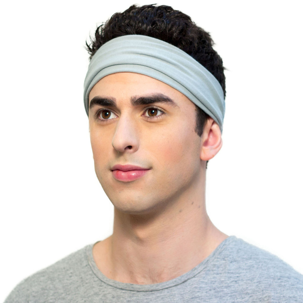 Grey Headband for Men