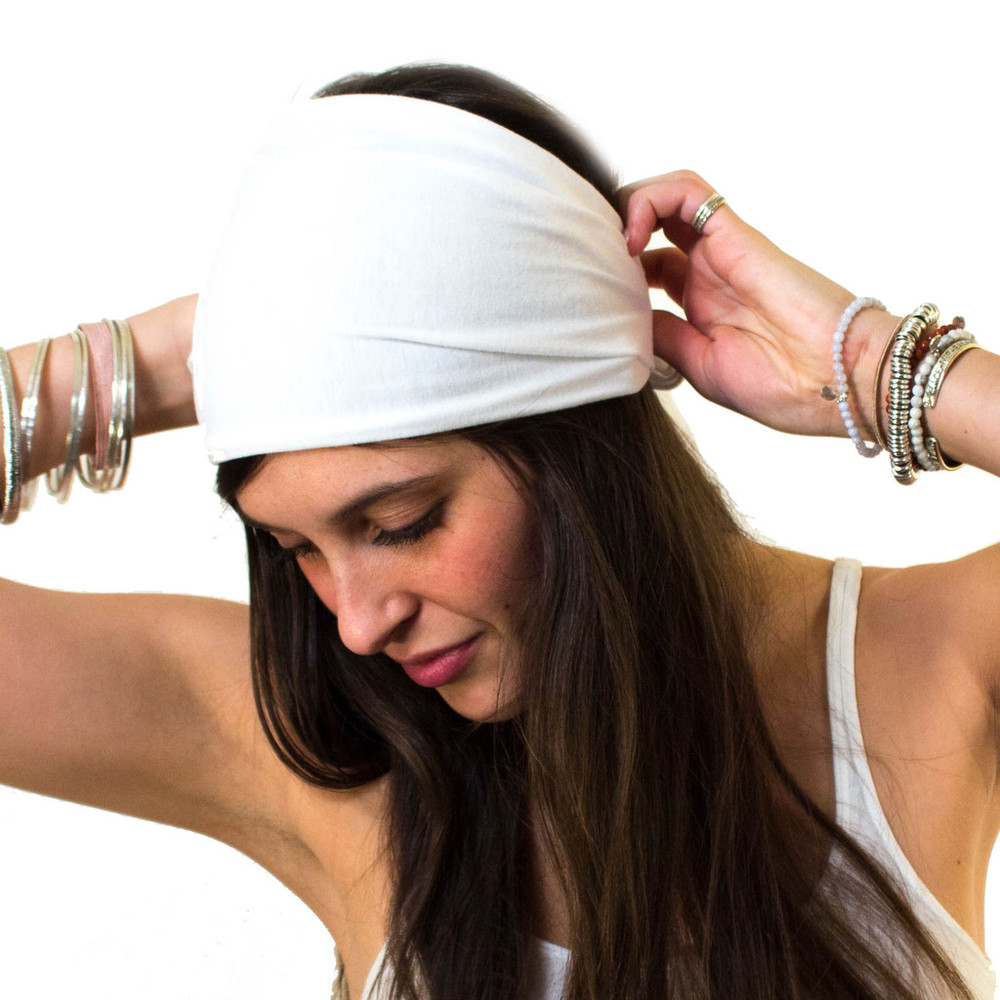 The Head Covering Bandana Headband - Perfect for Kundalini Yoga