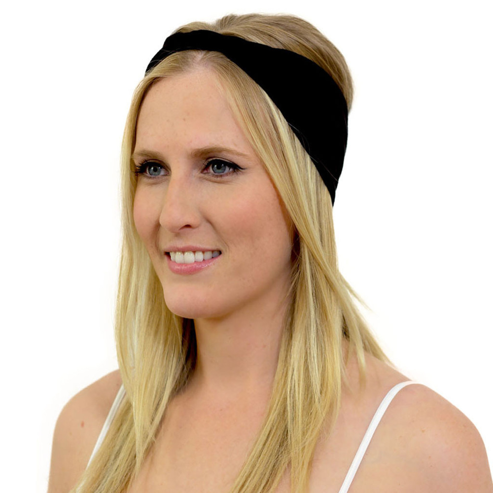 Black Twist Headband for Women