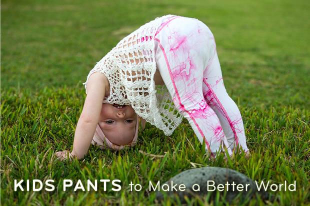 organic cotton kids pants for eco parents