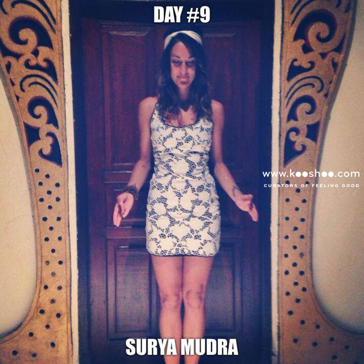 how to do surya mudra