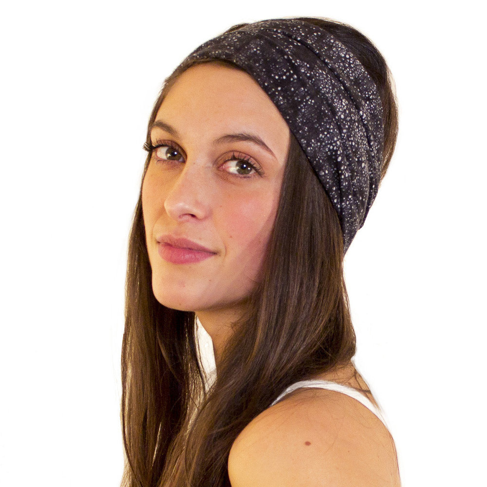 black headwrap for women