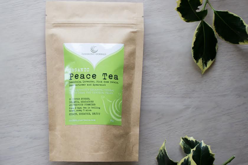peace tea for finding balance