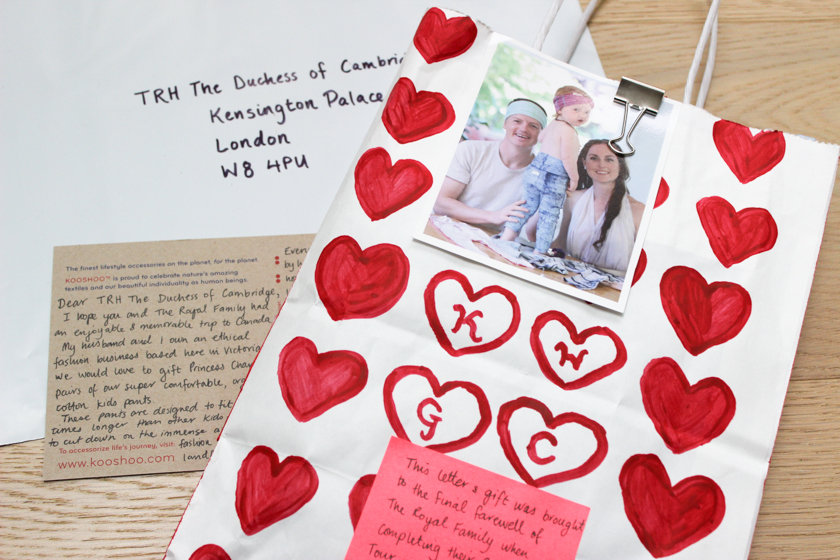 letter to Duchess of Cambridge