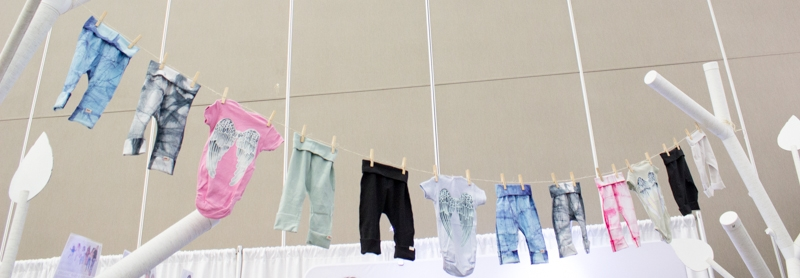 the clothesline adapted to an urban setting