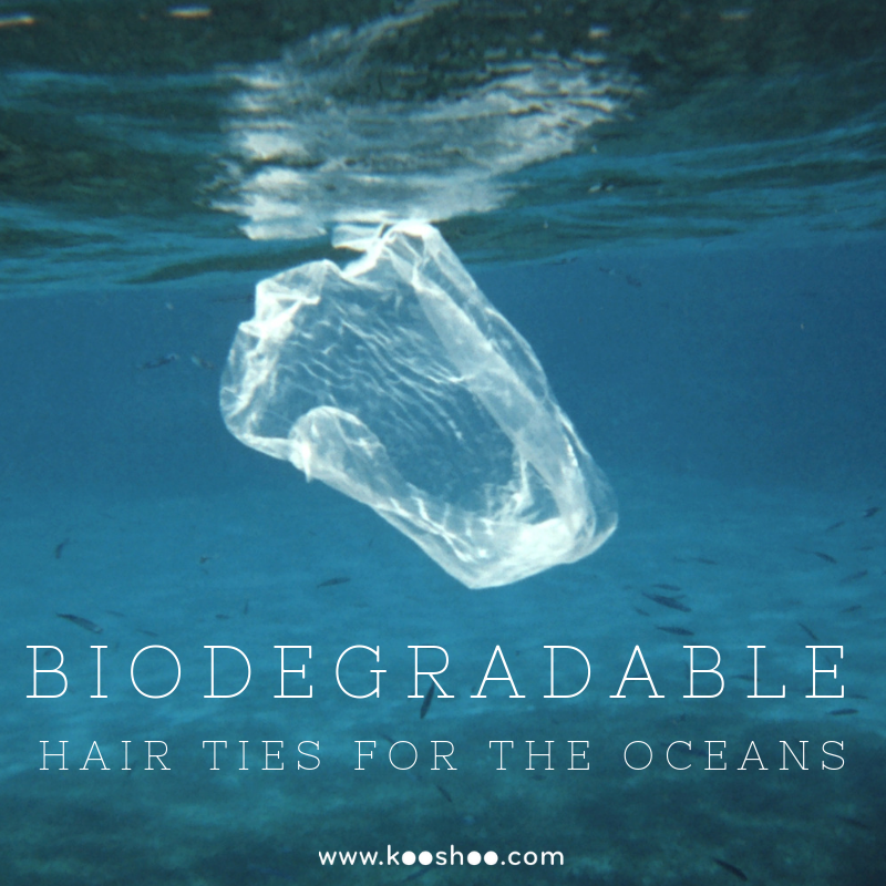 biodegradable hair ties for the oceans