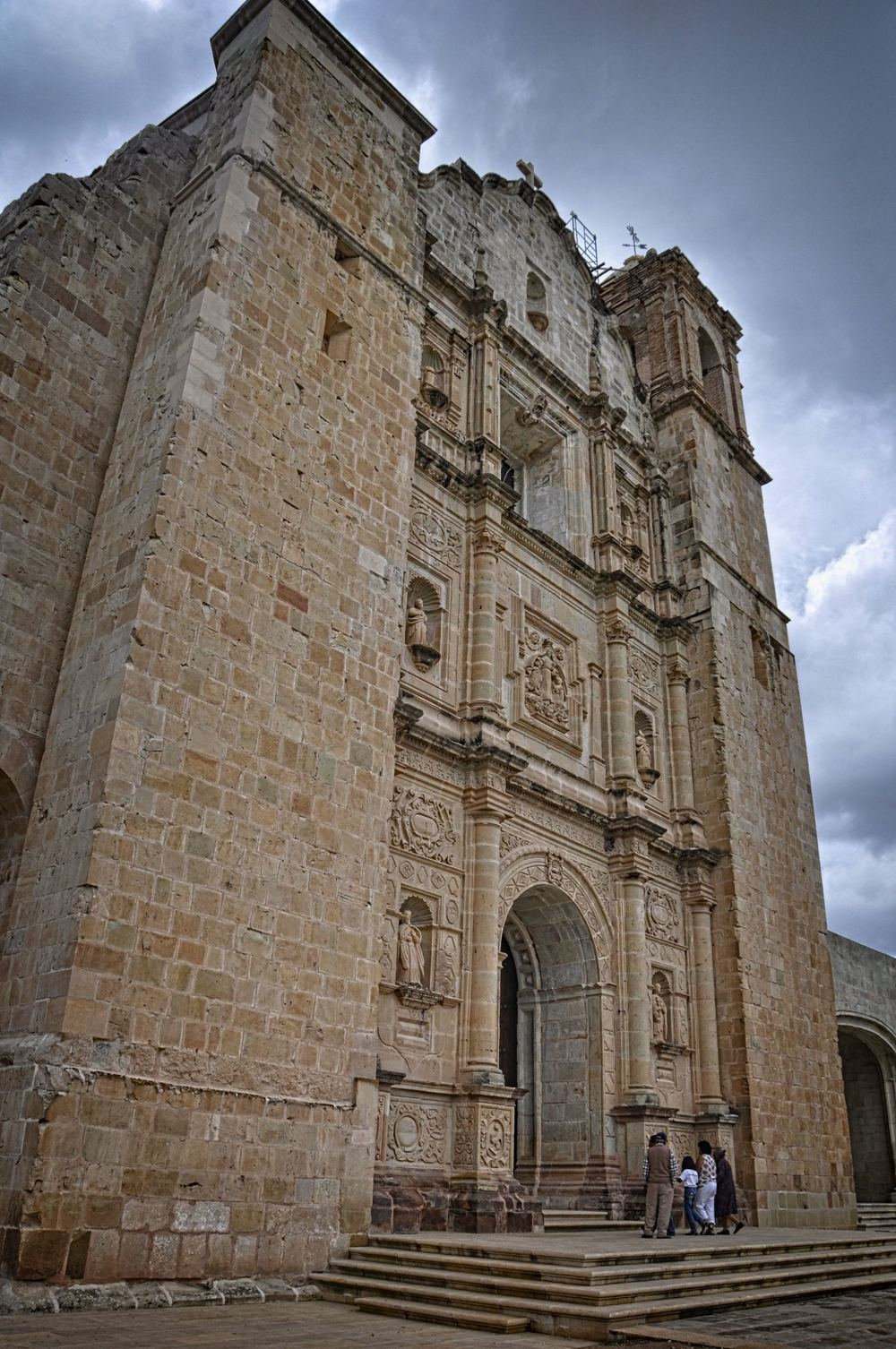 The church of Yanhuitlan