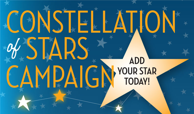 Hitch your STAR to ours today! Your donation is needed to make North Star Village a reality.  Help us make a difference in the lives of folks who choose to live independently in their own homes as they age.  Buy one or more tax-deductible STARS for $25 each by clicking on the image.