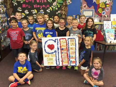 Jennifer Haynie's 2 nd Grade Class at Everett Elementary