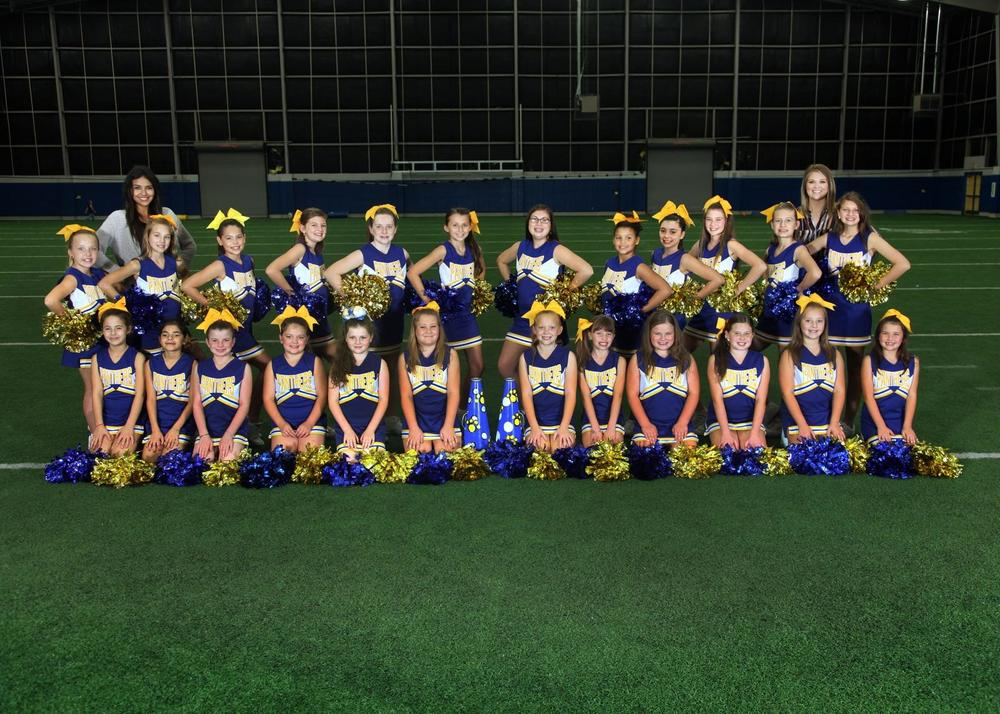 North Lamar Panthers Youth Cheerleaders