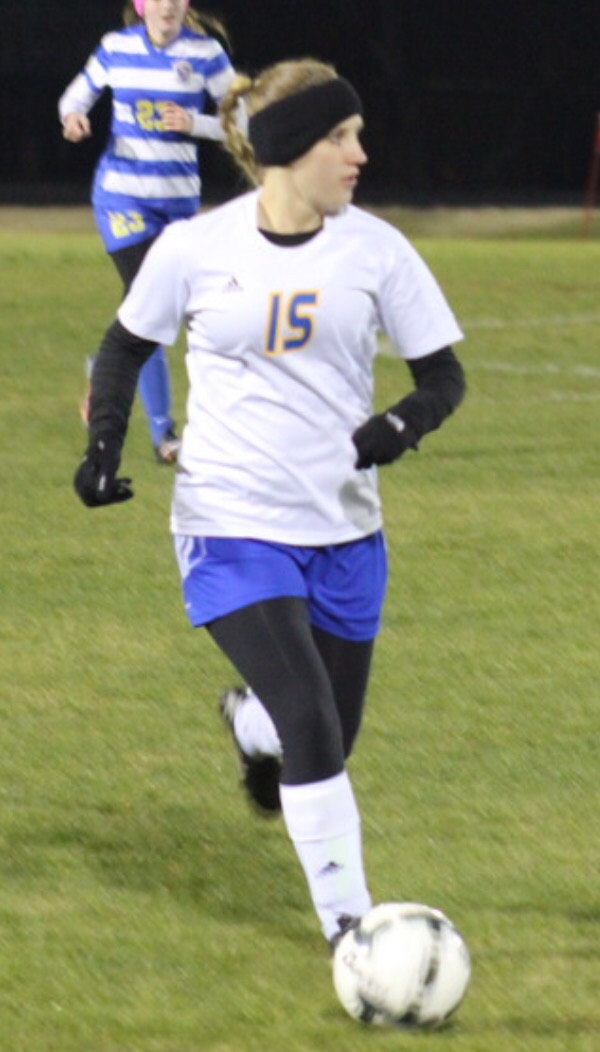 Kylea Basden in action against Sulphur Springs