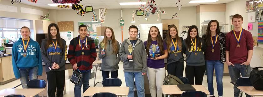 NLHS Finalists Advance to Regional Science Fair