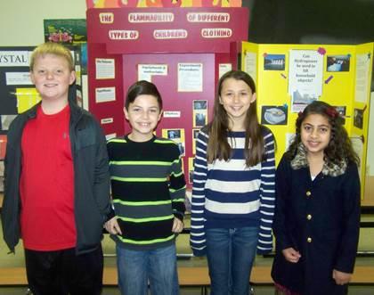 Bailey 5 th Grade Regional Science Fair Participants