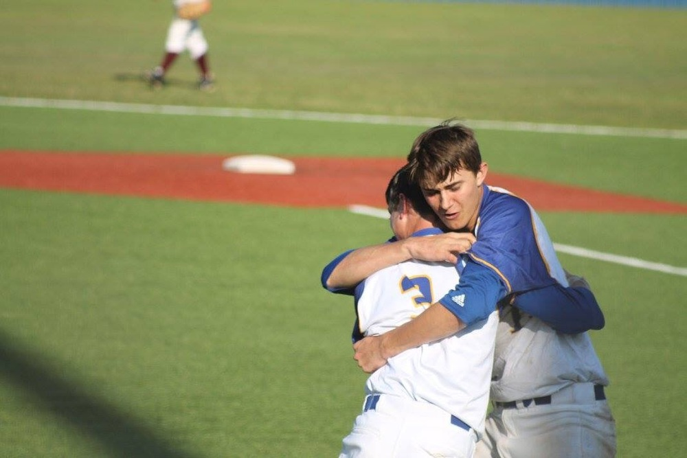 (Photo by Amanda Anderson) Matt Gibbons and Brayden Steed (3)