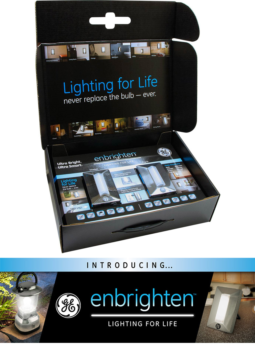 Enbrighten press kit / product release campaign