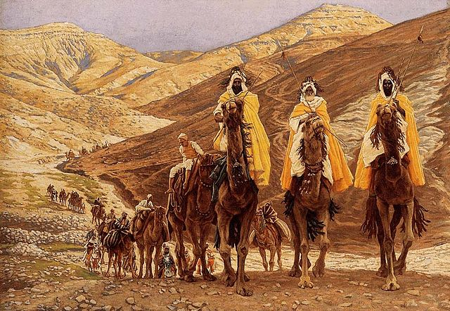 James Tissot:  The Magi Journeying  (c. 1890), Brooklyn Museum, New York City