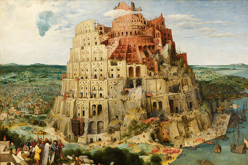 https://commons.wikimedia.org/wiki/File:Language_topic_image_Breugel%27s_Tower_of_Babel.jpg