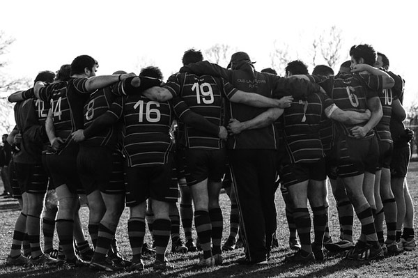 Cooperation is the hallmark of all good rugby teams and Montessori classrooms.