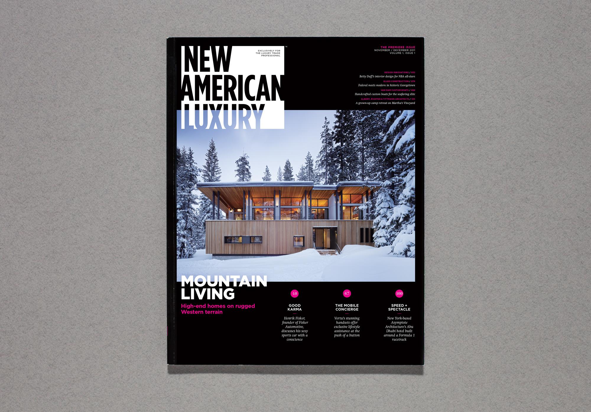 New American Luxury — Aaron G  Lewis