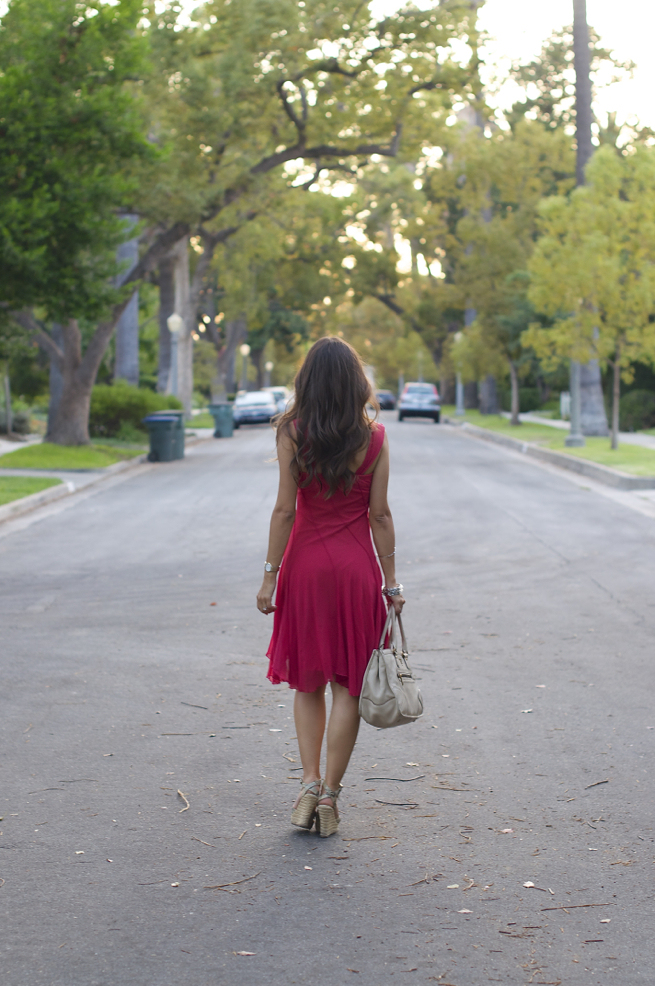 Summer Pink Dress