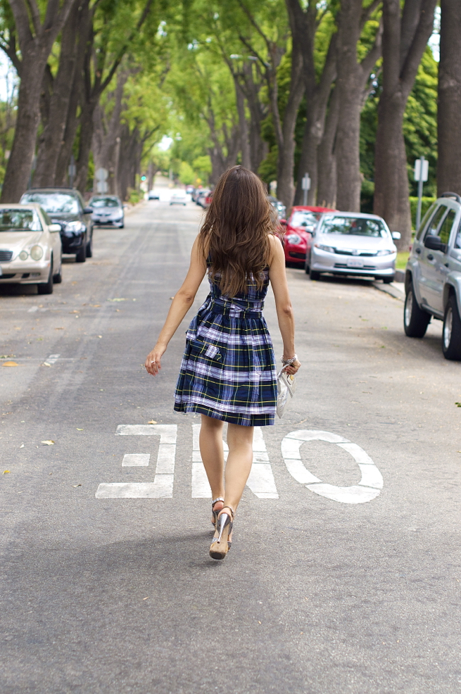 Summer Plaid Dress