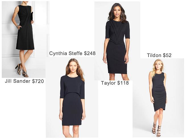 Jill Sander  //    Cynthia Steffe  //    Taylor Dresses  //    Tildon