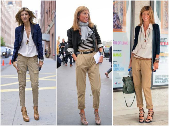 Sarah Rutson Cargo Pants Style