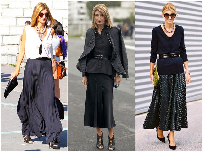 Sarah Rutson Long Skirt Style