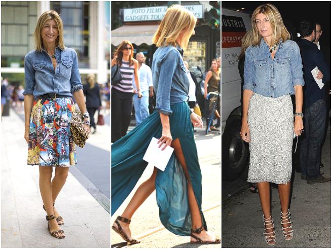 Sarah Rutson Chambray Shirt Style