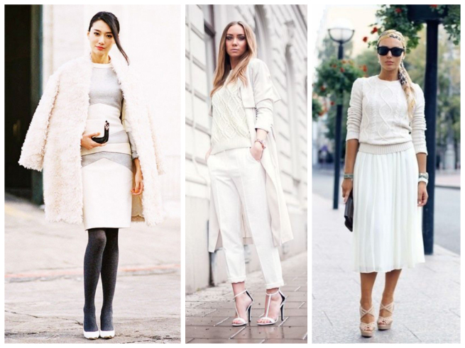 wear white to work