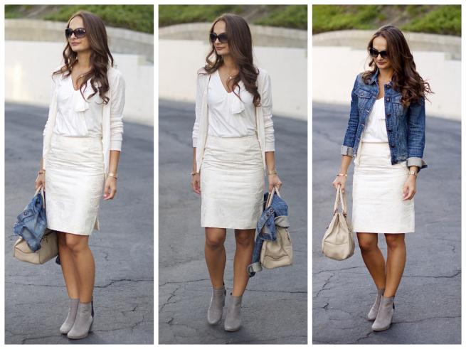 wear white to work style by practicallyfashion