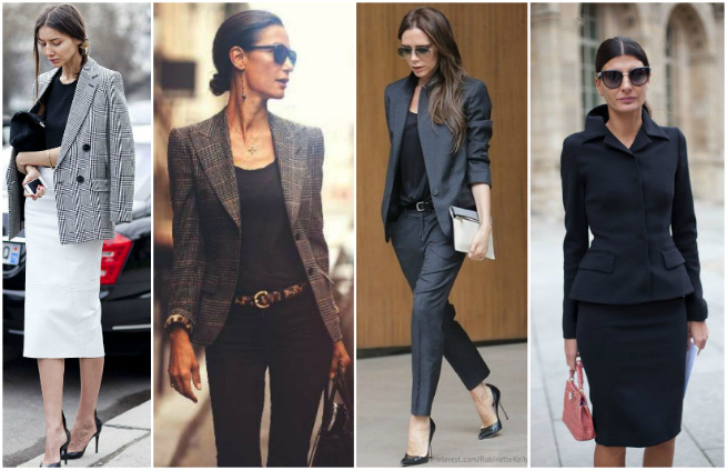 how to dress like a boss